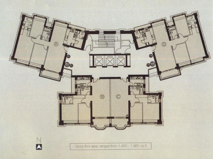 城镇街道门面房屋设计图展示